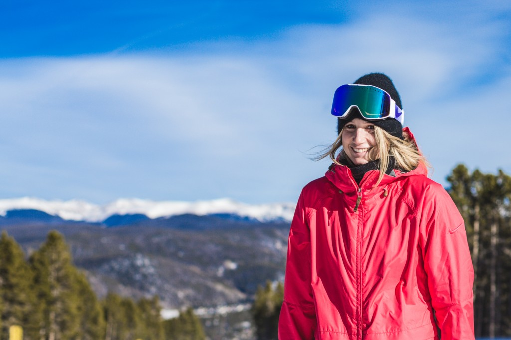 Anna smiling for Breck Photo: Sani Alibabic