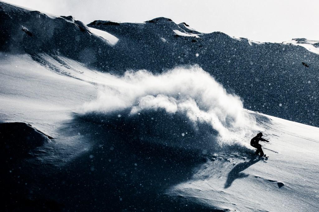 Spray for days. Photo: Silvano Zeiter