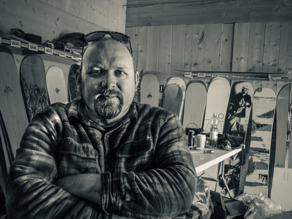 Jeremy Sladen has been involved in the Snowboarding industry for over 30 years. Jez is head buyer of hard goods for the Uk's biggest Snowboard store; The Snowboard Asylum