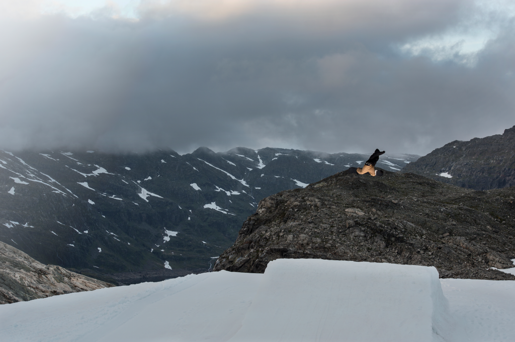Out filming for Vimana Photo: Stian Dirdal