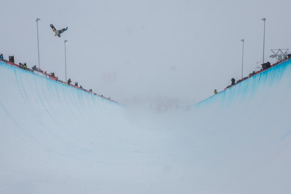 Swiss local boosting into the abyss. Photo: Matt McHattie