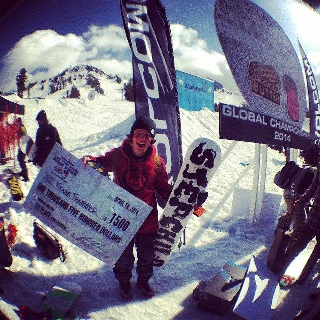 Winning in Mammoth. Photo Volcom