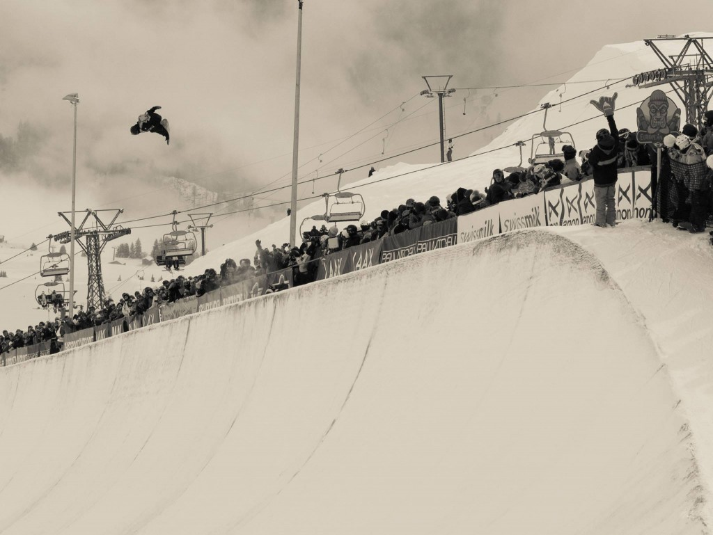 Signature height at this years Burton European Open. Photo: Tom Kingsnorth