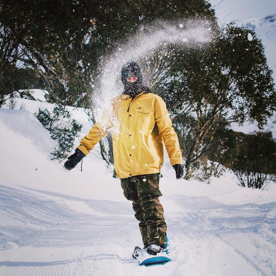 Clemens down under in Perisher Photo: Finnegan Laver