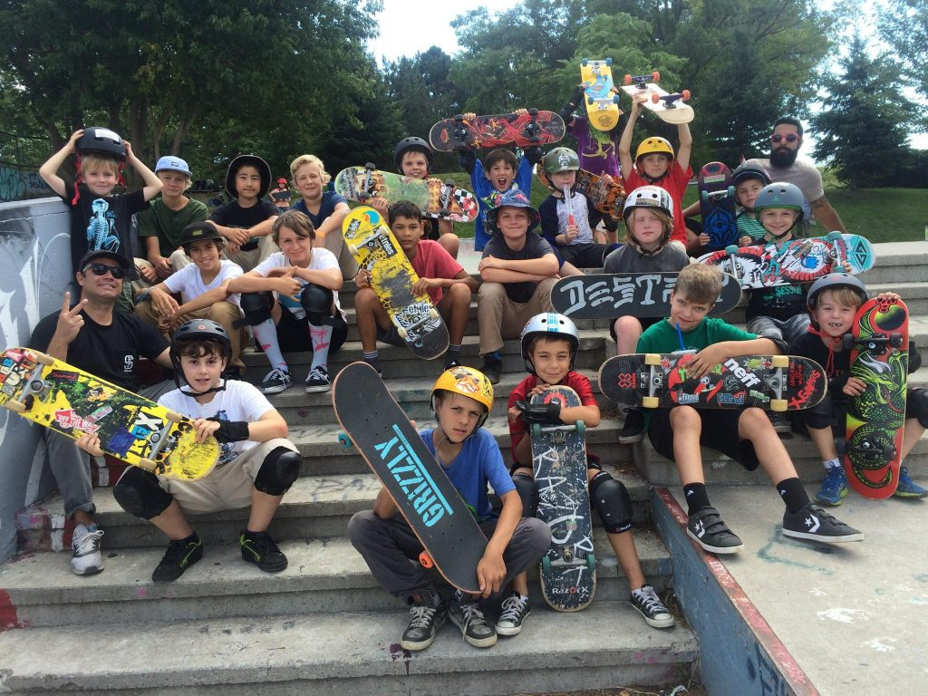 Chill in summer mode with their skate program. Photo: Chill