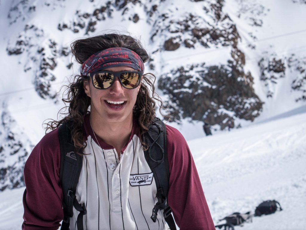 Sparrow Knox might be one of the most watchable people in snowboarding. Always unpredictable, full of energy , incredible rider and loose as a goose.