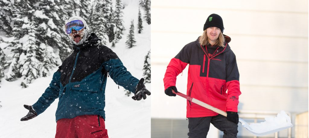Tyler Chorlton and Eiki Helgason looking dapper in their Horsefeathers signature line.
